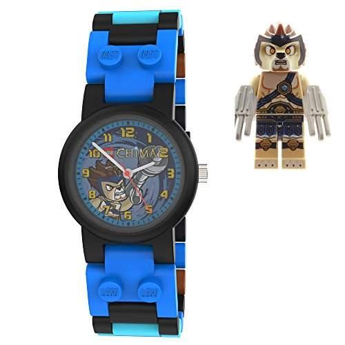 LEGO Kinder-Armbanduhr Analog Quarz Mehrfarbig 740548