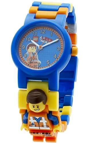 LEGO Movie Emmet Armbanduhr - 9009976 - Quarz-Analog Kunststoff, mehrfarbig