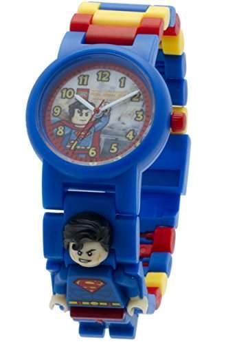 LEGO Unisex-Armbanduhr DC Universe Superman Analog Quarz Plastik 8020257