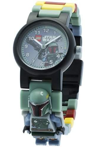 ClicTime - 9005466 - Lego Star Wars Boba Fett Minifiguren-Link-kinderarmbanuhr - mehrfarbige