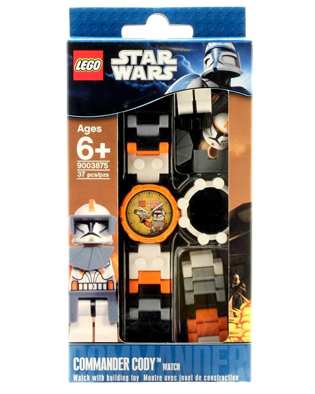 Lego Star Wars Commander Cody Armbanduhr Analog Kunststoff Armband 9003875 oder PU