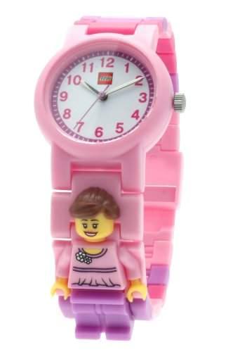Lego Kinder und Jugendliche-Armbanduhr Analog Plastik grau 9003363