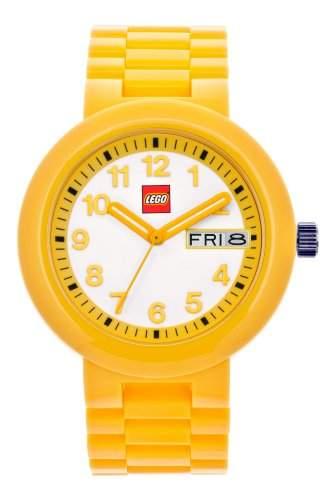 LEGO Erwachsenen Uhr - Classic gelb