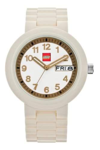 LEGO Erwachsenen Uhr - Classic weissgold