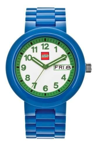 LEGO Erwachsenen Uhr - Classic blaugruen