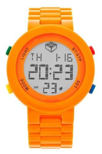 LEGO Erwachsenen Uhr Digifigure Orange