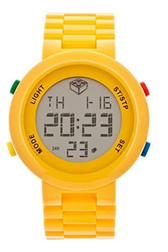LEGO Erwachsenen Uhr - Digifigure gelb