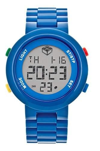 LEGO Erwachsenen Uhr - Digifigure blau