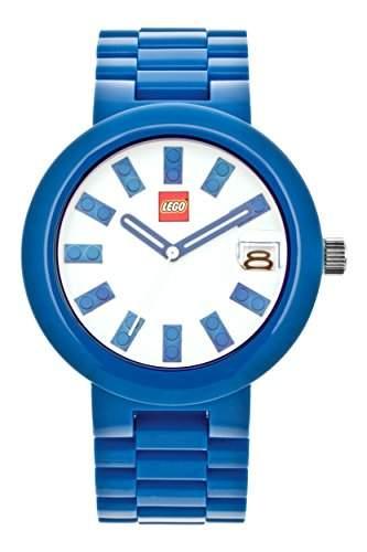 LEGO Erwachsenen Uhr - Brick blau