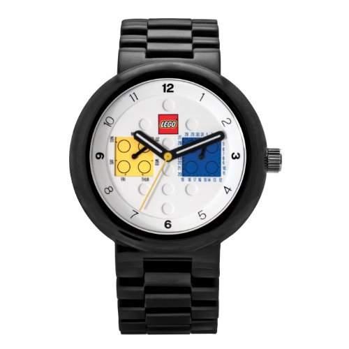 LEGO Erwachsenen Uhr - Two by Two schwarz