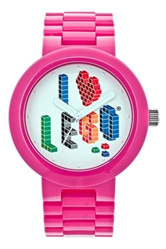 LEGO Erwachsenen Uhr - I LOVE LEGO Erwachsenen Uhr - rosa