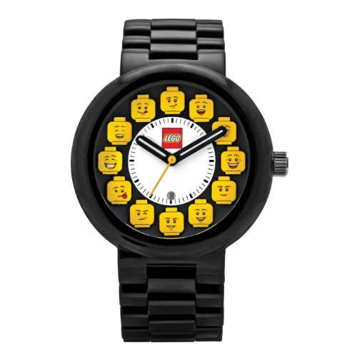 LEGO Erwachsenen Uhr - Fan Club schwarzgelb