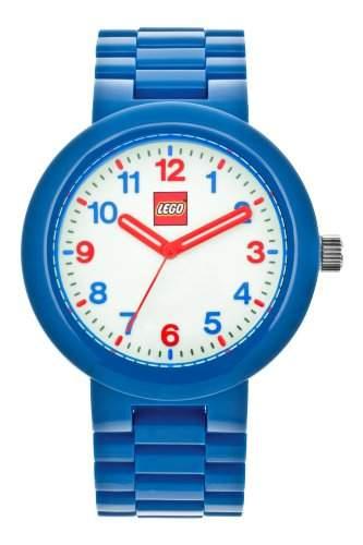 LEGO Erwachsenen Uhr - Classic blau mit Leuchtzifferblatt