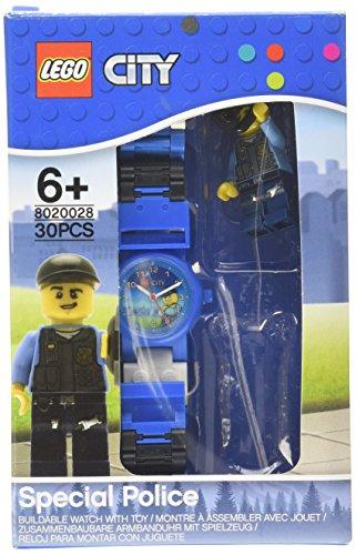Lego 8020028 Kinder bunte Kunststoffgehaeuse und StrapAnalog Display Japanische Quarzuhr