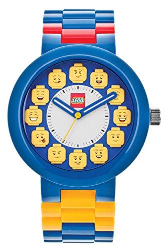 LEGO Fan Club Blau Gelb Erwachsene Armbanduhr