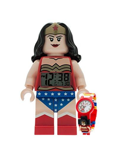 LEGO DC Universe Wonder Woman Wecker und Armbanduhr Buendel