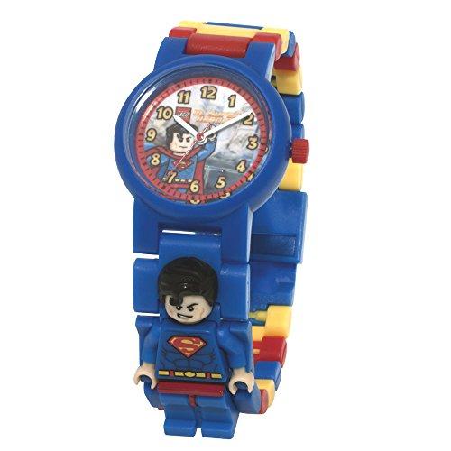Lego Kinder 740444 Armbanduhr Alyce Quarz Analog Zifferblatt weiss Kunststoff mehrfarbig