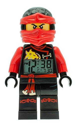LEGO Unisex Wecker Digital Red 9009440
