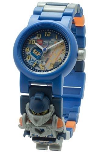 LEGO Unisex Armbanduhr Nexo Knights Clay Analog Quarz Plastik 8020516