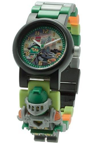 LEGO Unisex Armbanduhr Nexo Knights Aaron Analog Quarz Plastik 8020523