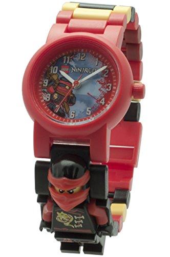 LEGO Unisex Armbanduhr Ninjago Sky Pirates Kai Analog Quarz Plastik 8020547