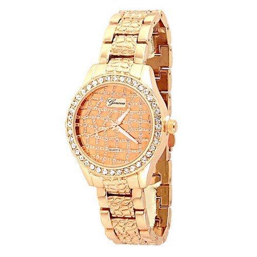 Rose Gold Kristall Uhr marokkanischen Entwerfer Mode Frauen Freund