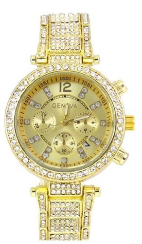 Procuffs Damen Armbanduhr analog digital Metall W2