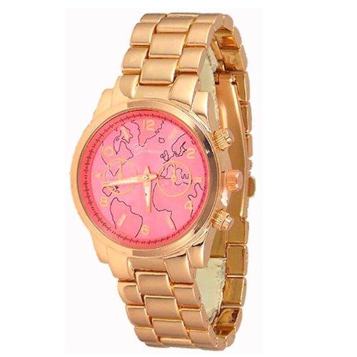 Procuffs Damen Armbanduhr analog digital Metall W40A