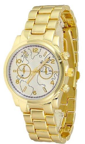 Procuffs Damen Armbanduhr analog digital Metall W42A