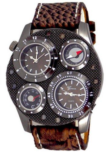 Procuffs Herren Armbanduhr analog digital Metall W83