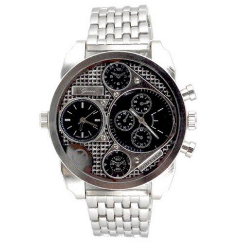 Procuffs Herren Armbanduhr analog digital Metall W90