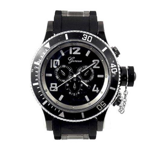 Procuffs Herren Armbanduhr analog digital Metall W93