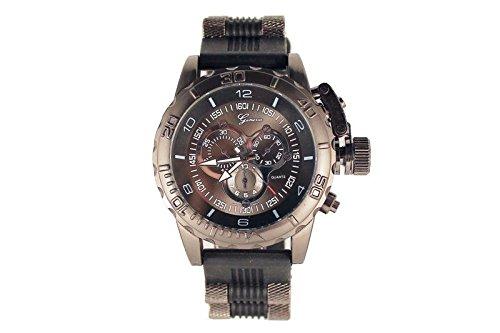 Schwarz Genf Uhr Modedesigner Freund