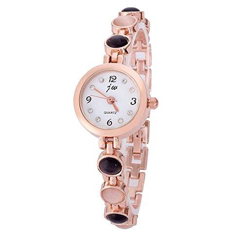2014 neue Mode Stil Armbanduhr niedliche Schularmband Schwarz Weiss