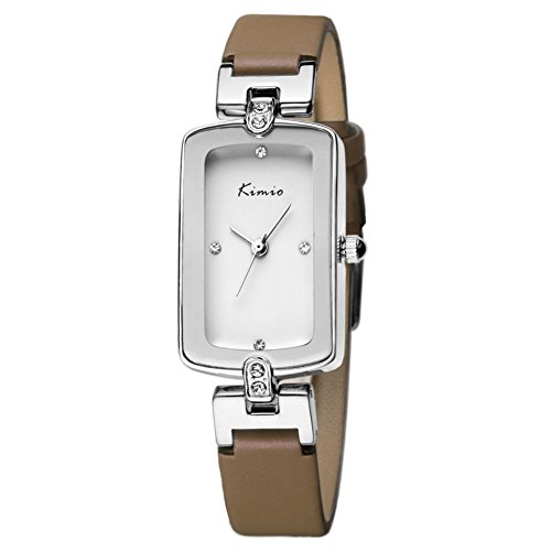 Echtlederband fashion casual Brown Uhren