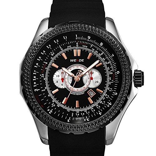 New klassisches Design fashion casual Quarz Sportuhr LED Uhren Herrenuhren