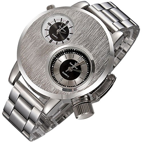 Quarzuhren Herren Business Mode Trends das Stahlband Uhr
