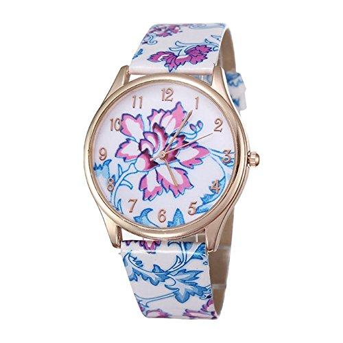 Romantische Retro Trend zeigt Frauen lila und blau Quarz Blume