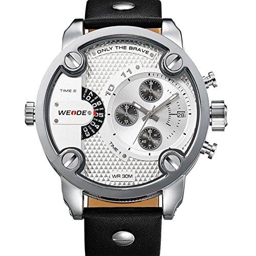 Split Modus LED Multifunktionssport Uhr von M nnern White