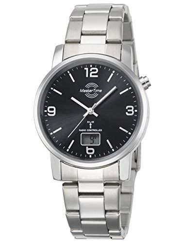 Herren-Funkuhr Master Time Funk Basic Series Herrenuhr MTGA-10302-21M Herren-Funk-Armbanduhr