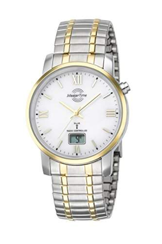 Herren-Funkuhr Master Time Funk Basic Series Herrenuhr MTGA-10310-13M Herren-Funk-Armbanduhr