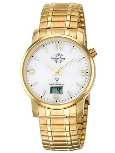 Herren-Funkuhr Master Time Funk Basic Series Herrenuhr MTGA-10312-12M Herren-Funk-Armbanduhr