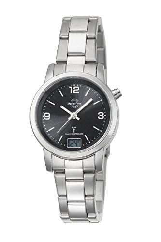 Damen-Funkuhr Master Time Funk Basic Series Damenuhr MTLA-10303-21M Damen-Funk-Armbanduhr