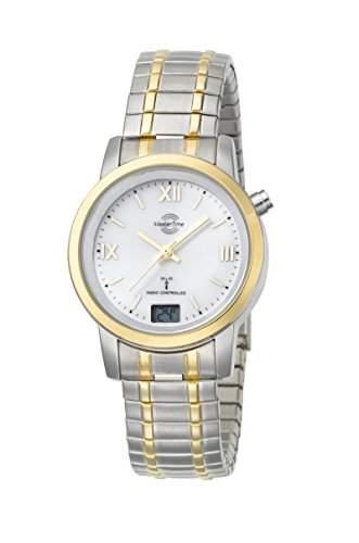 Damen-Funkuhr Master Time Funk Basic Series Damenuhr MTLA-10311-13M Damen-Funk-Armbanduhr