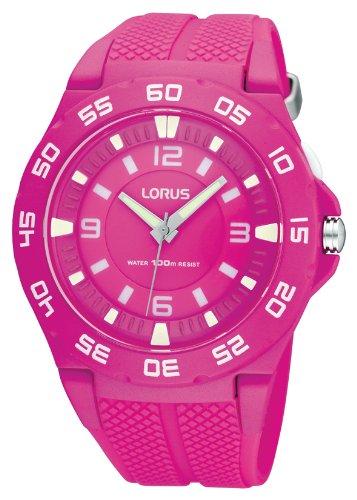 Lorus XL Fashion Analog Quarz Kautschuk R2343FX9