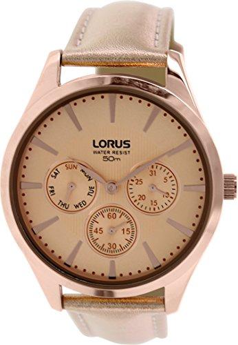 Lorus RP698AX9 Bronze Metallic Leder Quarz