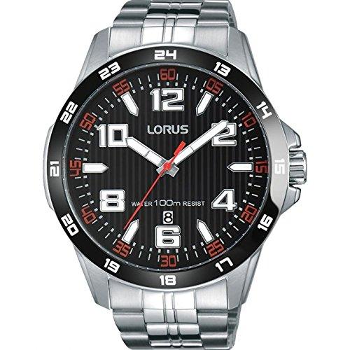 Lorus Gents Sports Stainless Steel Bracelet Watch