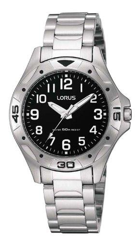 Lorus Analog Quarz Edelstahl RRS45PX9
