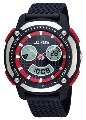 Lorus XL Sport Analog Digital Quarz Kautschuk R2343DX9