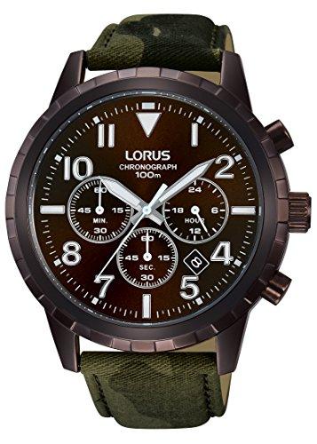 Lorus Watches Sport Chronograph Quarz Leder RT339FX9